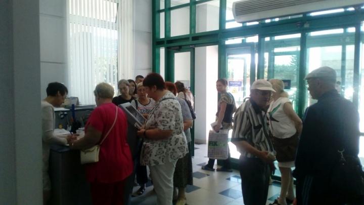 В Самаре выстроились длинные очереди за перерасчетом пенсий