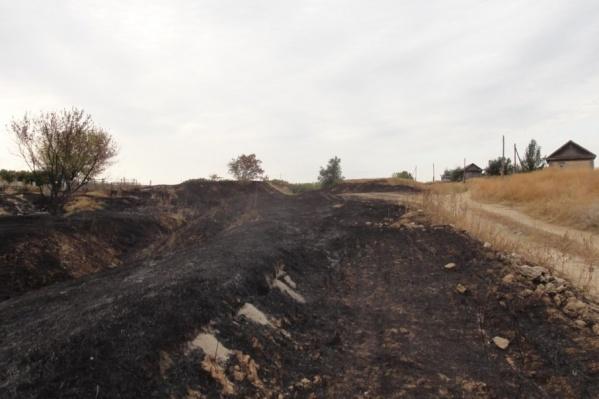От огненной стихии в регионе пострадали десятки жилых домов