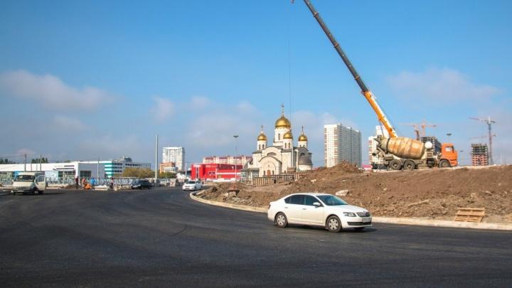 Развязка на Московском/Кирова: где обустроят остановки общественного транспорта