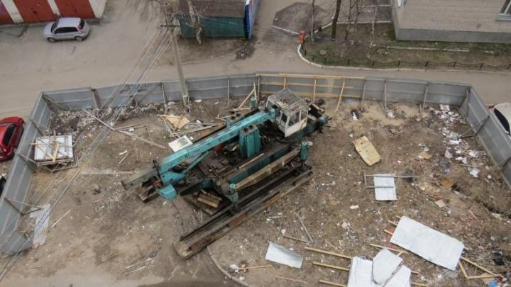 В Архангельске прокуратура запретила строить административное здание рядом с домом