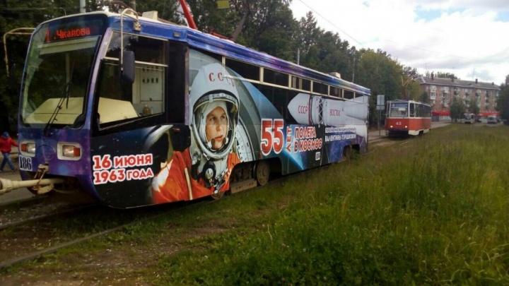 В Ярославле запустили космические трамвай и троллейбус