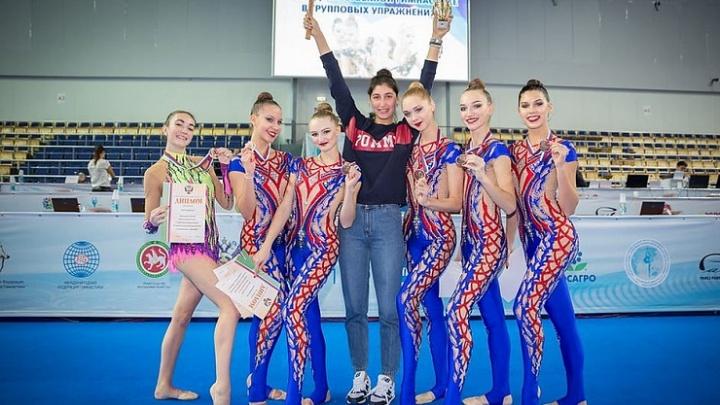 Волгоградские гимнастки впервые за девять лет получили медали чемпионата России