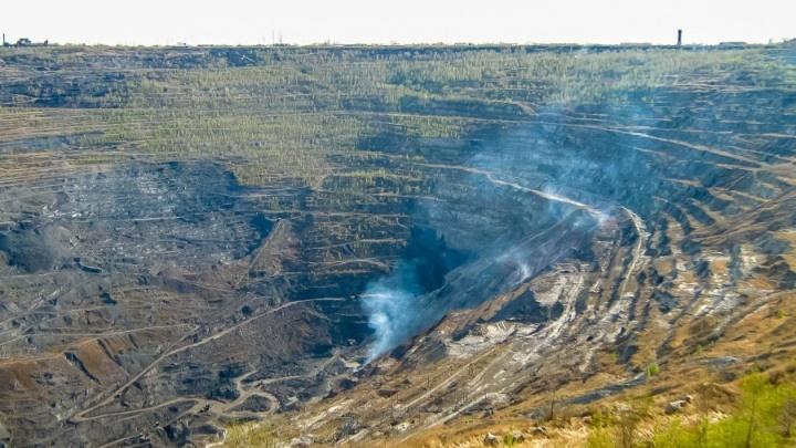 Горноспасатели начнут тушить возгорания в Коркинском разрезе до начала его ликвидации