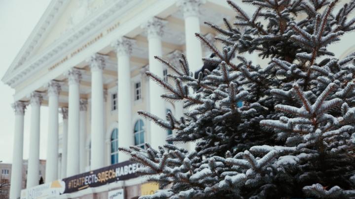 В выходные в Тюмени будет ветрено и пойдет небольшой снег