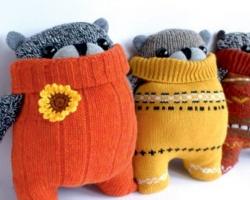 В ТРЦ «Солнечный» сошьют игрушки из носков