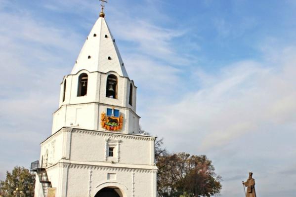 Кремль построен в 1683 году