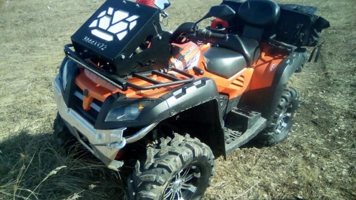 Погоня со стрельбой по колесам обернулась для водителя квадроцикла штрафом в 1000 рублей