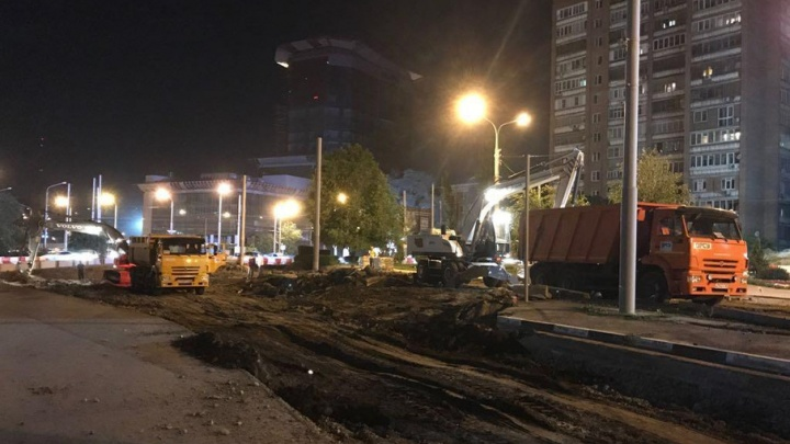 Реконструкция улицы Станиславского завершится через год