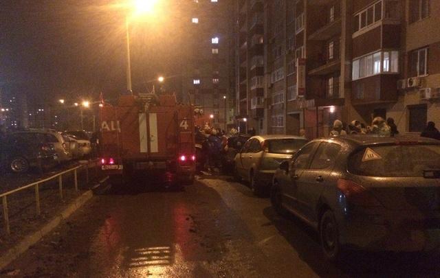 В Самаре госпитализировали жителя дома из-за пожара в многоэтажке