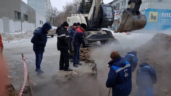Жители Сызрани остались без горячей воды и отопления