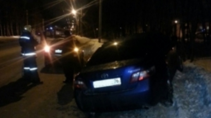 В ДТП на Полушкиной роще пострадали два человека