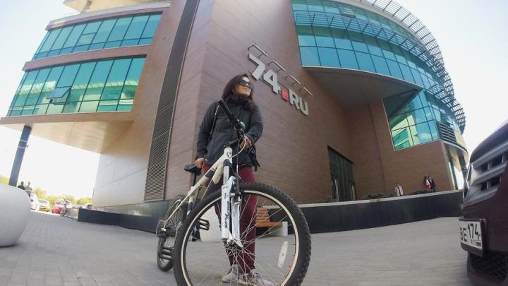 Быстрее, чем на машине: челябинцы доехали на работу на велосипедах