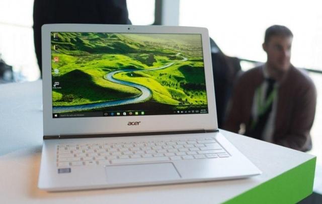 В России стартовали продажи нового ультрабука Acer Aspire S13