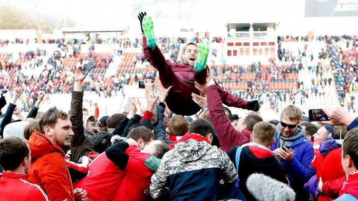 Пермский «Амкар» оштрафовали на сто тысяч рублей из-за поведения болельщиков «Спартака»
