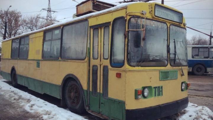 В Тольятти планируют выкупить и отремонтировать раритетный троллейбус