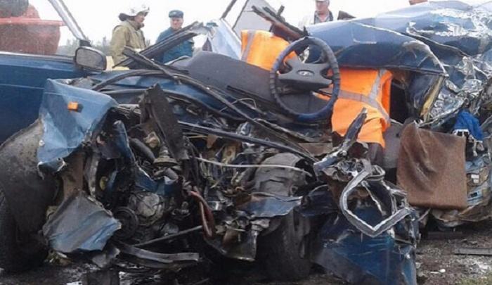 Водитель грузовика из Прикамья попал в смертельное ДТП на трассе в Башкирии