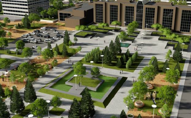 Парковка, новые деревья и детские площадки: в Ростове представили проект благоустройства парка «Дружба»