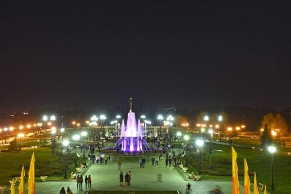 В Ярославле вновь заработали фонтаны