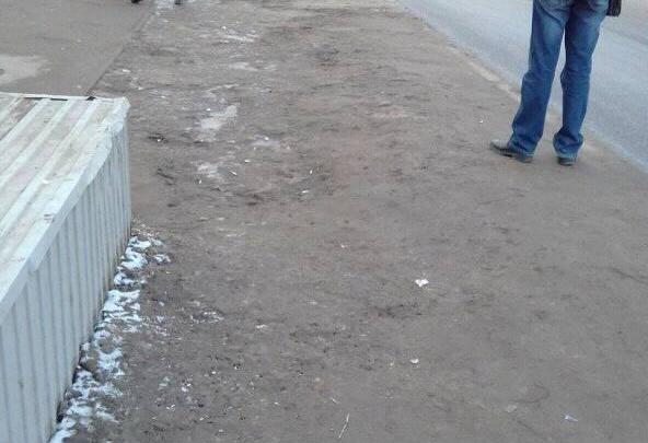 Остановку в центре Волгограда перенесли поближе к грязи