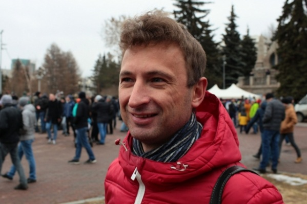 Алексея Табалова задержали сразу после митинга на Алом Поле