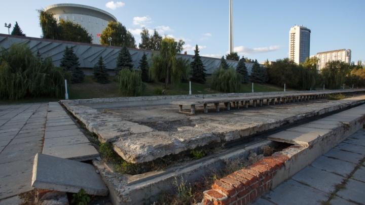 В Волгограде у музея-панорамы построят стометровый фонтан