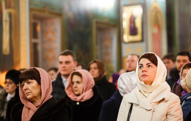 Волгоградцы празднуют Вербное воскресение