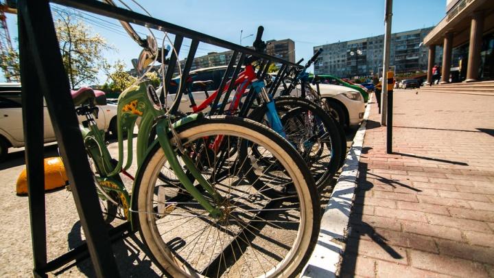 Обгоняют машины, колесят по тротуарам: тест-игра для тюменских велосипедистов на знание ПДД