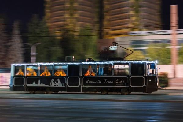 Трамвай-кафе работает в Перми с осени 2015 года