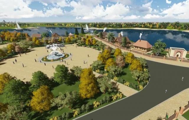 Появилась визуализация будущего парка Дружбы народов в Самаре