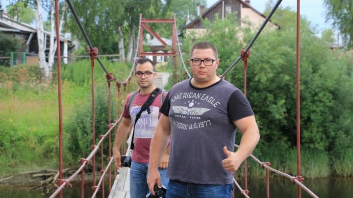 Топовые блогеры навестили Поморье ради «узколейки» в Рочегде