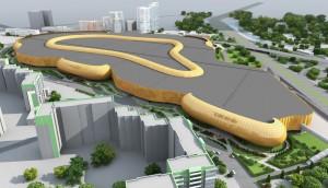 """Проект """"золотого"""" автовокзала."""