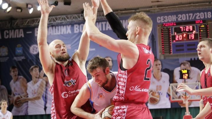 Юбилейная победа: БК «Самара» на выезде обыграл московский «МБА»