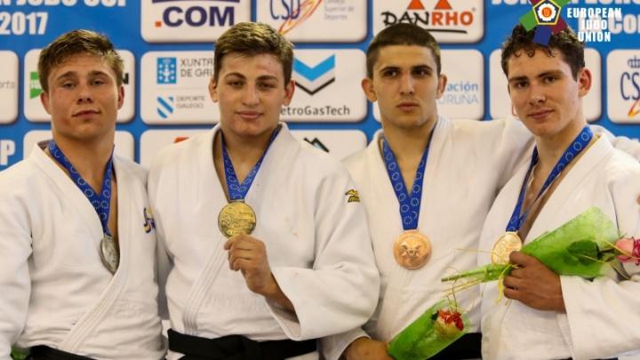 Тюменский дзюдоист одержал победу на Кубке Европы среди юниоров