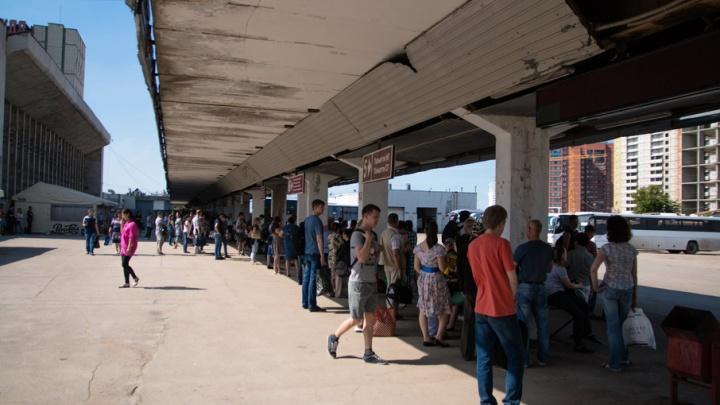 Самарский автовокзал разбирают по кирпичику: после ремонта тут появятся табло и турникеты