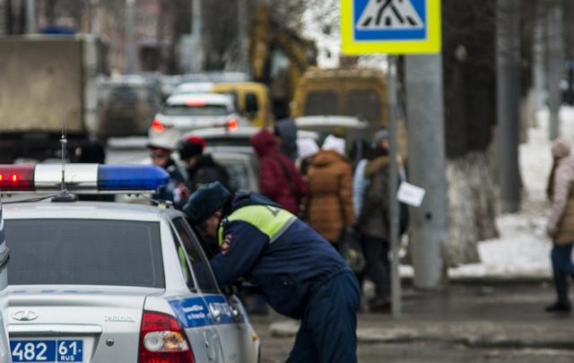 На Дону за грязные номера оштрафовали более 6 тысяч водителей
