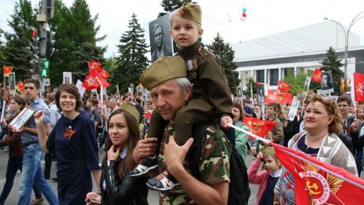 Будем помнить и благодарить вас вечно: фоторепортаж 161.ru «Бессмертный полк»