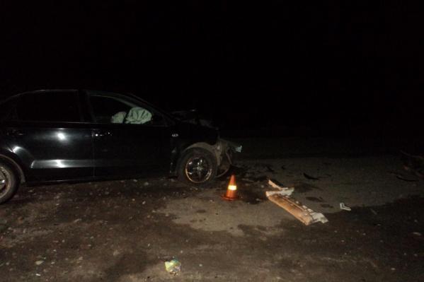 С переломами госпитализированы водитель и пассажир «Фольксвагена»