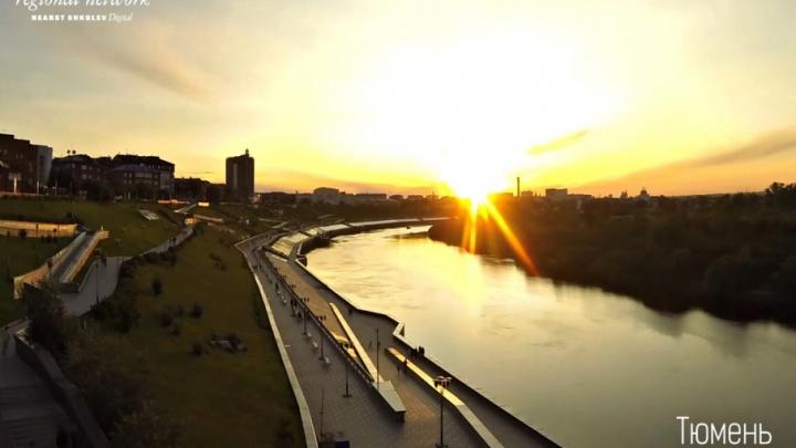 Лето, до свиданья: последний августовский закат от Тюмени до Архангельска