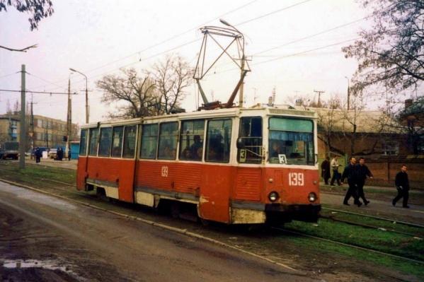 Сейчас в Новочеркасске действуют только шесть трамваев из 20
