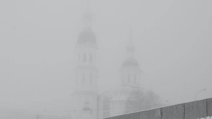 Снег и туман ждет жителей Поморья в воскресенье