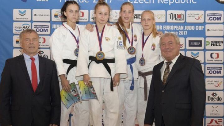 Южноуральская дзюдоистка выиграла третью за год медаль Кубка Европы