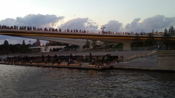 Левобережный парк и «Ростов Арену» предложили соединить летящим мостом