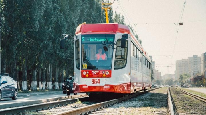 В Самаре направят 72,7 млн рублей на оплату взятых в лизинг трехсекционных трамваев