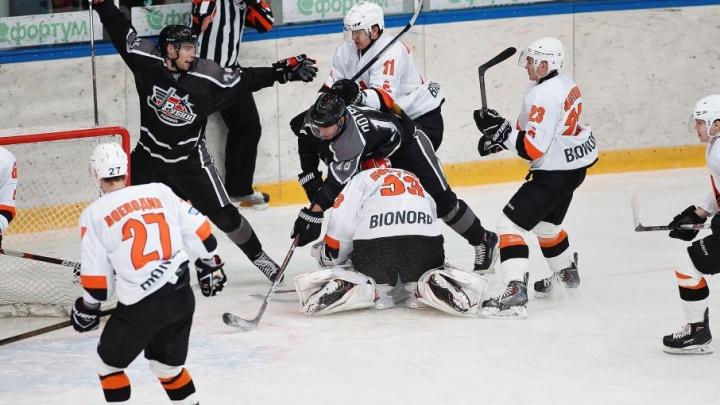 Тюменский «Рубин» вырвал победу у пермяков на очередном матче чемпионата Высшей хоккейной лиги