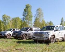 «Автомир» и Toyota покорили бездорожье