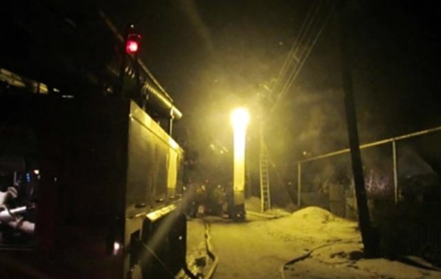 На пожаре в Челябинске погибли трое, в том числе двухлетний ребенок