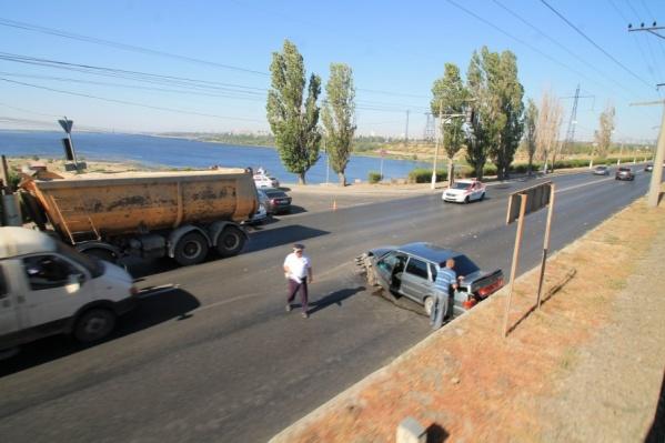 Пробка образовалась по направлению в Волгоград