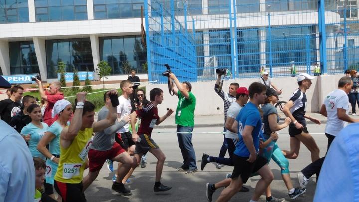 «Зеленый марафон» пробежали более двух тысяч ростовчан