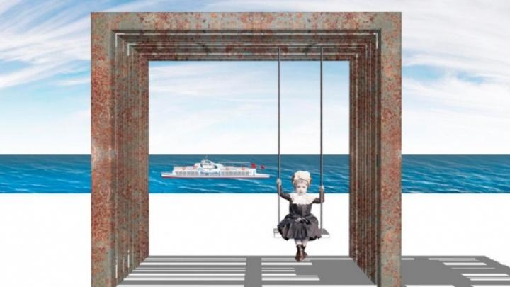 Гамак и велопарковка: в Самаре на набережной появятся пять арт-объектов