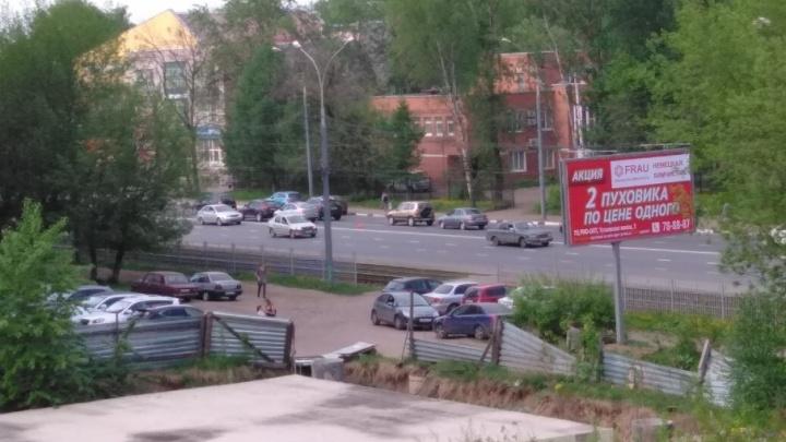 Внимание, сейчас будет пробка: на проспекте Октября произошло две аварии